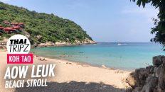Aow Leuk Beach, Koh Tao, Thailand - THAITRIPZ