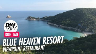 Blue Heaven Resort, Restaurant, Viewpoint, Koh Tao, Thailand