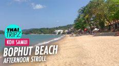Bophut Beach (Fishermans Village) Koh Samui, Thailand - THAITRIPZ