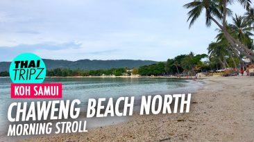 Chaweng Beach, Morning, Koh Samui, Thailand - THAITRIPZ