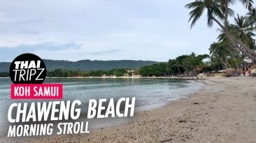 Chaweng Beach, Morning, Koh Samui, Thailand