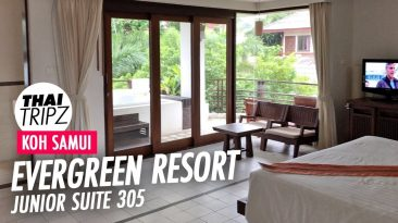 Evergreen Resort, Junior Suite 305, Chaweng Beach, Koh Samui, Thailand