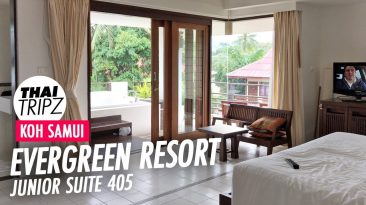 Evergreen Resort, Junior Suite 405, Chaweng Beach, Koh Samui, Thailand
