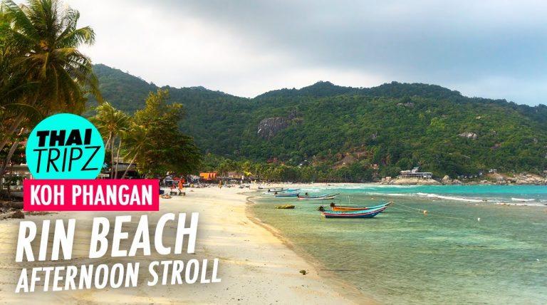 Haad Rin Nok Beach, Afternoon stroll, Koh Phangan, Thailand - THAITRIPZ