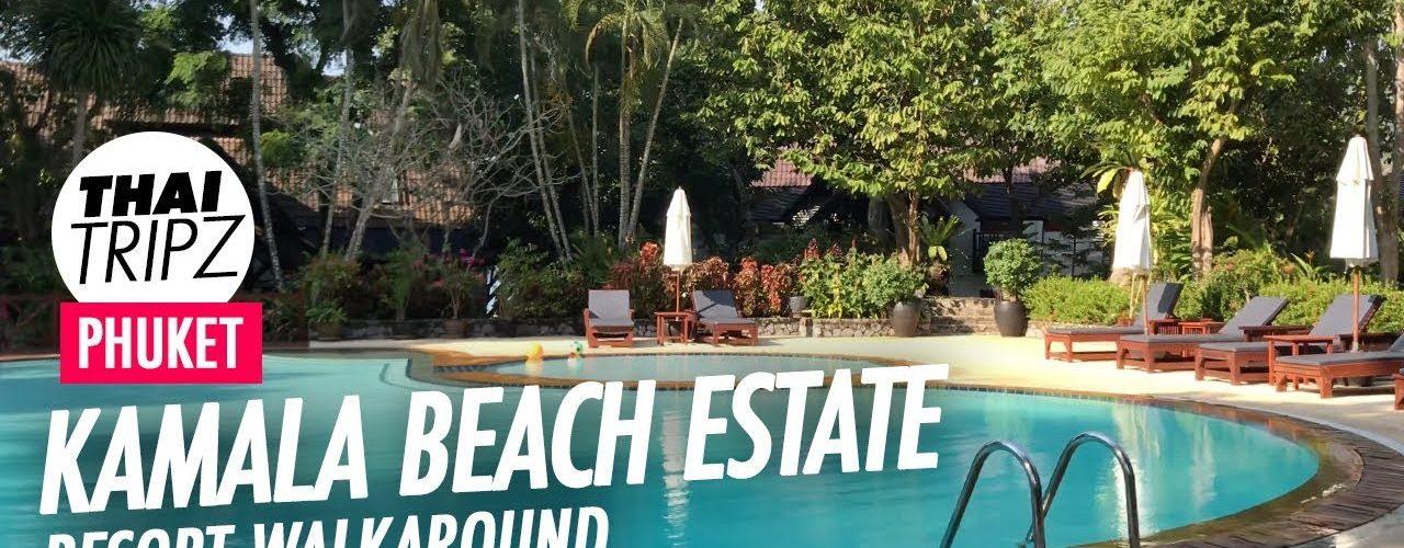 Kamala Beach Estate, Walk Around, Phuket, Thailand