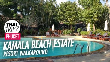 Kamala Beach Estate, Walk Around, Phuket, Thailand