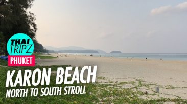 Karon Beach, North to south, Phuket, Thailand