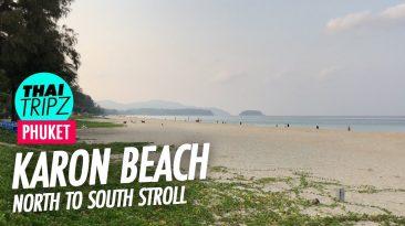 Karon Beach, North to south, Phuket, Thailand