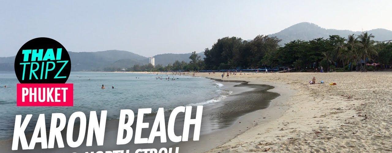 Karon Beach, South to north, Phuket, Thailand