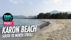 Karon Beach, South to north, Phuket, Thailand
