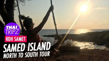 Koh Samet, North to south tour, Thailand