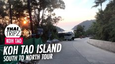 Koh Tao, South to North, Thailand