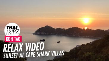 Koh Tao Sunset, Cape Shark Villas, Thailand