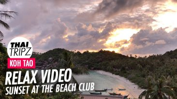 Koh Tao Sunset, The Beachclub Room 747, The Haad Tien Beach Resort, Thailand