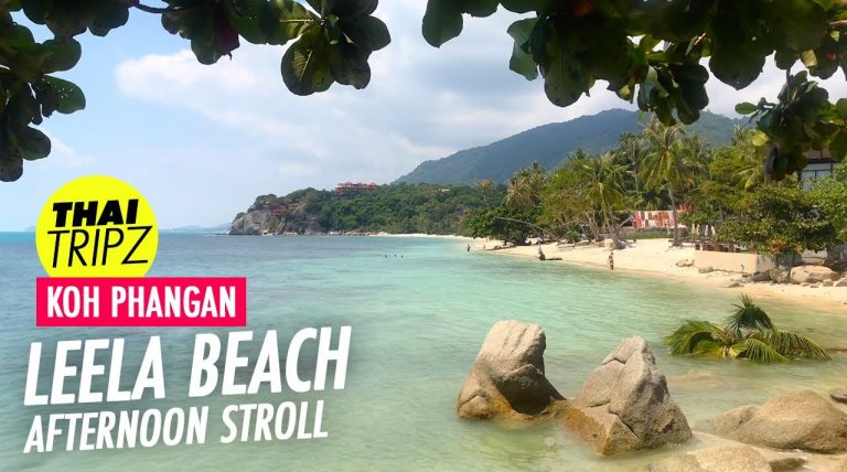 Leela Beach (Haad Seekantang), Koh Phangan, Thailand - THAITRIPZ