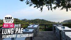 Lung Pae Restaurant, Koh Tao Thailand, Thailand