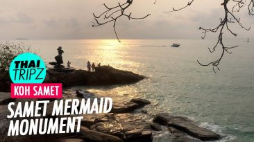Mermaid Monument, Koh Samet, Thailand