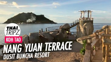 Nang Yuan Terrace, Dusit Buncha Resort, Sunset Restaurant, Koh Tao, Thailand