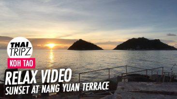 Nang Yuan Terrace Sunset, Dusit Buncha Resort, Koh Tao, Thailand
