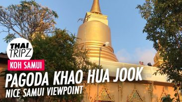 Pagoda Khao Hua Jook, Koh Samui Viewpoint, Thailand
