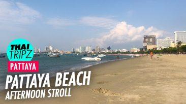 Pattaya Beach - Afternoon stroll - Pattaya, Thailand - THAITRIPZ