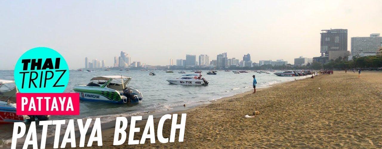 Pattaya Beach - Morning Stroll - Pattaya, Thailand - THAITRIPZ