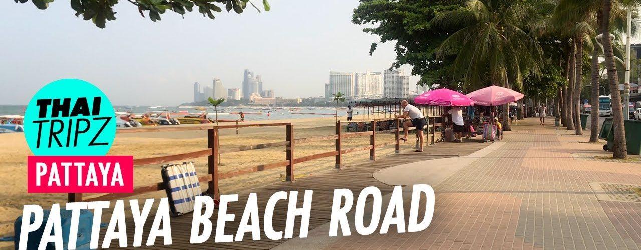 Pattaya Beach Road - Morning stroll - Pattaya, Thailand - THAITRIPZ