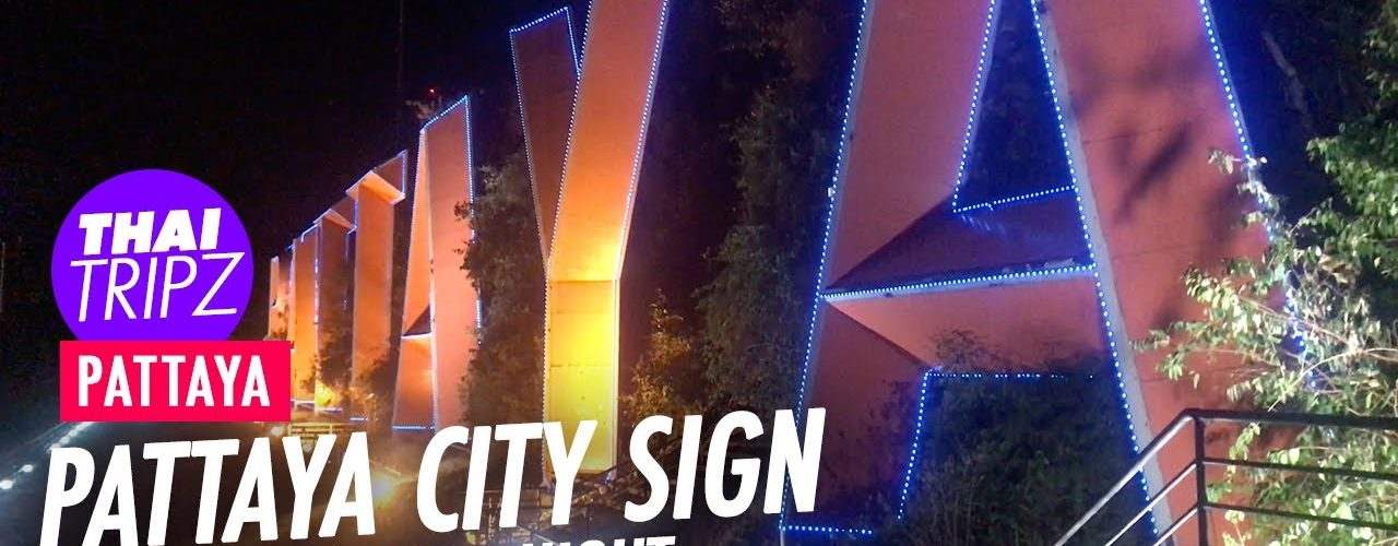 Pattaya City Sign Viewpoint - Pattaya, Thailand - THAITRIPZ