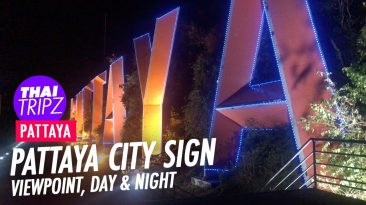 Pattaya City Sign Viewpoint - Pattaya, Thailand - THAITRIPZ