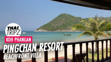 PingChan Beachfront Resort, Beach Front Villa 01, Koh Phangan, Thailand