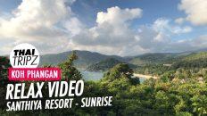 Santhiya Resort, Morning view, Koh Phangan, Thailand