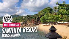 Santhiya Resort Walkaround, Koh Phangan, Thailand
