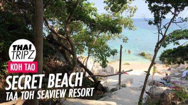 Taa Toh Seaview Resort, Beach, Koh Tao, Thailand