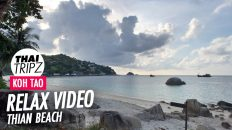 Thian Beach, Haad Tien Resort, Another morning view, Koh Tao, Thailand