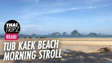 Tub Kaek Beach, Krabi, Thailand