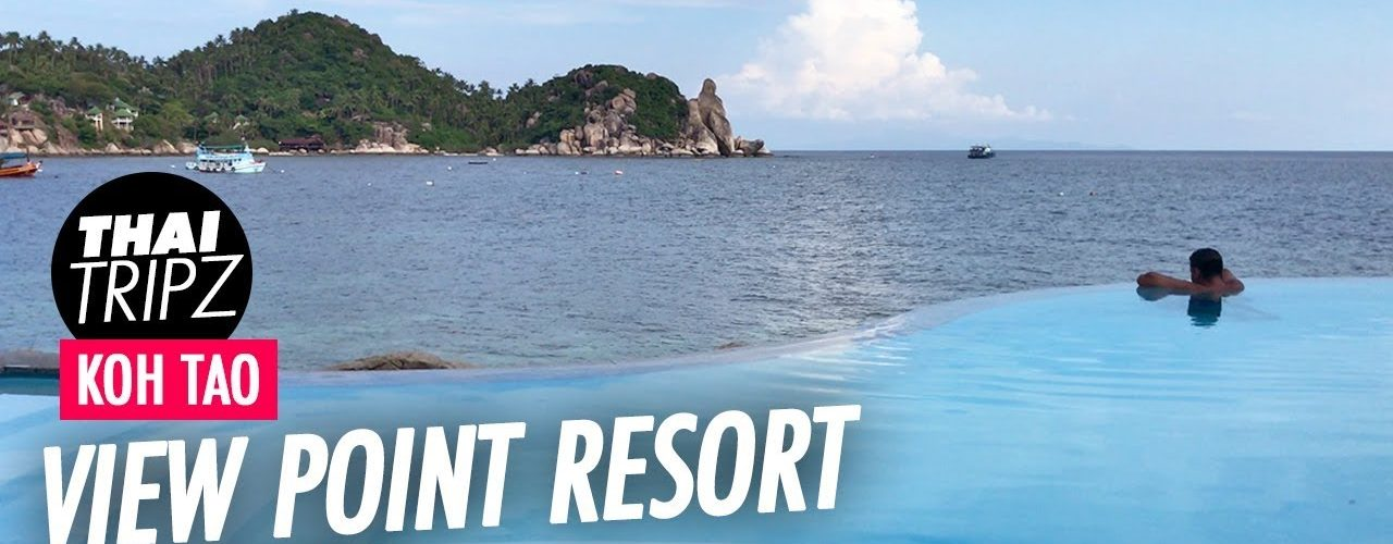 View Point Resort, The Cape Restaurant, Pool, San Jao Beach, Koh Tao, Thailand